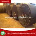 Reciclar mezcla de negro rollo de papel, negro de álbum de fotos de papel