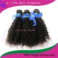 La venta caliente!!! No maraña, no derramar la cutícula completo 100% malasia virgen de pelo rizado rizo