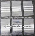 LDPE ziplock bag with white panels