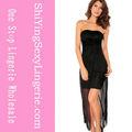 2013 нового прибытия черного короткие платья участником клуба