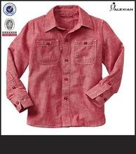 camisa de los hombres de corte