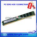 de plástico tarjeta de memoria ett chipsets de escritorio ddr3 4gb módulo de memoria ram