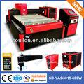 600w yag3015 alta qualidade laser máquinas de corte de tubos de aço carbono