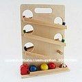 De colores de madera del vehículo& coche de madera $ bloque de madera de todo tipo de juguetes de madera para bebe