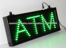 Señal LED de ATM
