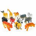 zoo animales de juguete de plástico para la decoración del hogar