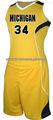 Nuevo estilo de los uniformes del baloncesto/de la mujer los uniformes del baloncesto