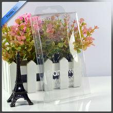 Eco- amigable de plástico transparente de embalaje con la suspensión