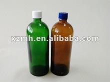 25ml verde o de vidrio de color ámbar de la botella de tubo