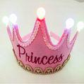 venta al por mayor de cumpleaños de los niños de la corona del partido decoraciones de suministros en china