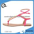 zapatos calientes de la venta sandalias de las mujeres