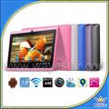 Tablet caliente para Niños WIFI A33 Quad Core Andriod 4.4 colorido regalo tableta de 7 pulgadas