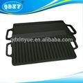 ferro fundido reversível placa de fogão