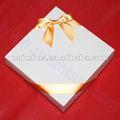 Ouro dom arco embalagem para decorar, fita de cetim bowknot