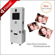 la mayoría popular cabina de fotos de la máquina expendedora de ventas