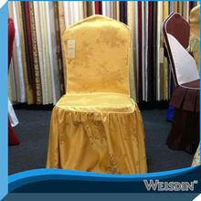decoración al por mayor cubierta de la silla del banquete de boda