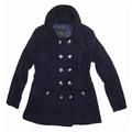 de la señora 2014 melton abrigo de la moda