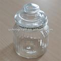 vasilha de vidro com tampa de vidro