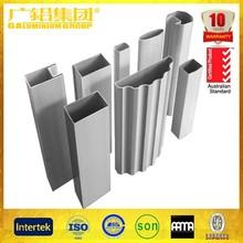 alliage 6063 balustrade main courante en aluminium pipe