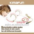 Profissional microfone auricular sem fios KM-4082 para o professor japonês