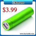 Cargador de batería exceso de inventario 2600mah portátil barato para la venta