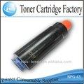 Cartucho de tóner npg-4 fabricante para fotocopiadora canon de la máquina