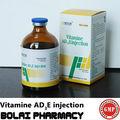 la vitamina ad3e para la inyección de los animales