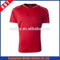 14/15 nuevo diseño tailandés negro de calidad camiseta de fútbol el deporte al por mayor del equipo de fútbol uniforme de fútbol