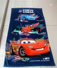 diseño del bordado de toallas de microfibra de promoción personalizada toalla de playa impresa
