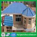 azul decorativos asa de plástico sintético tejas
