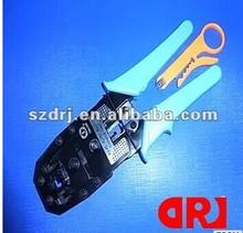 Odm& oem red de golpe hacia abajo para herramientas rj45/rj11 cableado de red de herramientas