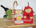 hecho en china de dibujos animados para niños de algodón guante de cocina divertida