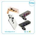 Fisheye+wide angle+macro clip universal 3 1 en cámara del teléfono móvil de la lente óptica