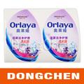 Personalizado a prueba de agua de pvc etiqueta, etiqueta de la botella de impresión en guangdong