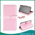 flip billetera de cuero genuino caso para el iphone de apple 6 shenzhen venta al por mayor