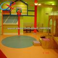 Suelo colorido jardín de infantes suave