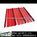 Hoja ligera techado de chapa de acero galvanizado corrugado barato material del techo de China