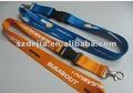 personalizada impresa cordón llavero para la promoción
