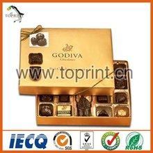 cajas de chocolate de embalaje