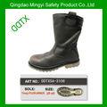 DDTXSA-3106 zapatos de seguridad con punta de acero de corte alto