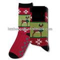 los niños de navidad para hacer punto del calcetín de invierno