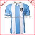 Top Tailandia de la calidad del envío rápido Soccer Jersey 13 Inicio Temporada Argentina Football Jerseys