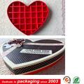 caja de bombones en forma de corazón de cartón loverly