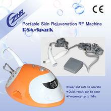 R8A-Spark 2014 caliente nueva rf portátil máquina de eliminación de arrugas