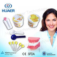 Impresión de silicona rígida Dental Materiales / materal dental