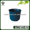 Fibra bambú pote de flor/bio& eco de fibra de la planta de la flor olla