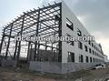 Casa pré-fabricada de aço da estrutura do armazém galpão de porco