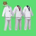 V-Neck Uniformes de Taekwondo con bordados personalizados
