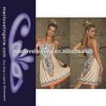 las mujeres ml18071 tendencia de ropa de color caqui dirndl retro vintage vestido