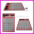 Venta caliente de promoción regalos& calculadora de energía solar calculadora táctil